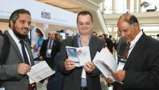 Attendees at HIMSS
