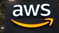 The AWS logo