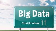 Big Data highway sign