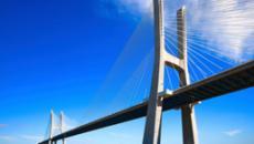 Bridge over ocean