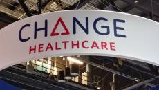 Change Healthcare booth HIMSS