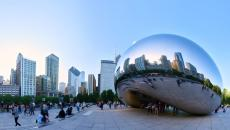 "The ""bean"" statue in Chicago"