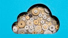 Cloud with gears