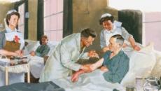 Patient care illustration