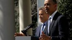 President Barack Obama and acting OMB Director Jeffrey Zients