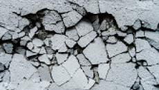 Crumbling foundation