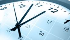 Calendar and clock