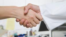 doctor handshake