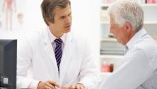 Doc and patient with EHR