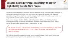 Lifespan Health Leverages Technology to Deliver High-Quality Care to More People