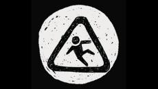 Person falling icon