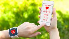 health apps on smarphone and smartwatch