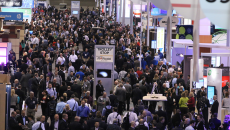 The HIMSS14 show floor. (Staff photo)