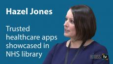 Hazel Jones, program director of Apps & Wearables at NHS Digital
