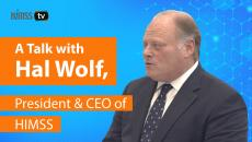 HIMSS President and CEO Hal Wolf