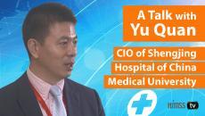 Yu Quan, CIO at China Medical University's Shengjing Hospital