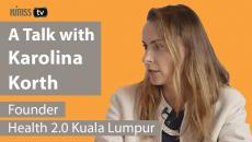 Karolina Korth, founder of the Kuala Lumpur Health 2.0 chapter