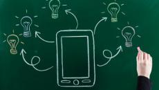 innovation illustration on chalkboard