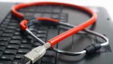 Keyboard with stethoscope USB
