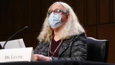 Dr. Rachel Levine in a mask