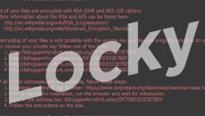 WannaCry ransomware Locky