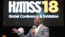 Magic Johnson at HIMSS18
