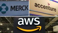 merck accenture aws signs