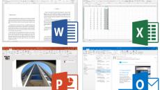 Microsoft Office 2016 screenshots