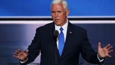 Republican vice presidential candidate Mike Pence