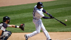 Marcus Thames of the Detroit Tigers