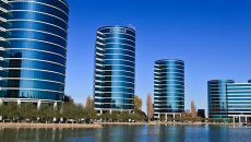 The Oracle headquarters at Redwood Shores, Calif. (Wikipedia)
