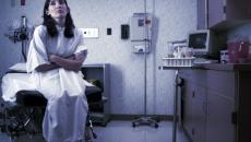 patient in exam room