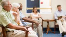 Patients in waiting room