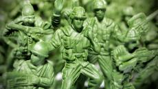 Plastic army figures