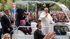 Pope Francis visits Philadelphia in September 2015.