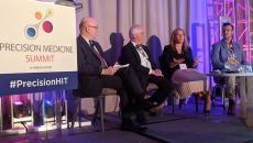 Precision medicine panel of experts speaking at HIMSS Precision Medicine Summit in Washington, D.C.