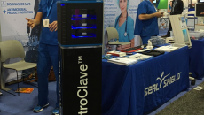 Infection control technology vendor Seal Shield LLC has introduced at HIMSS16 its new ElectroClave UV-C Sanitizer and Mobile Device Management System.