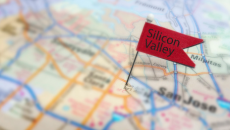 Silicon Valley pin on map