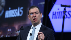 Slavitt speaking at HIMSS15.