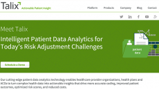 Healthcare risk adjustment technology vendor Talix announced Monday at HIMSS16 it is partnering with healthcare information technology companies NextGen Healthcare, Allscripts and Capstone Performance Systems to make Talix's Coding InSight application available through the three companies' respective offerings.