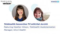 UCLA Health Telehealth Implementation Manager Heather Hitson