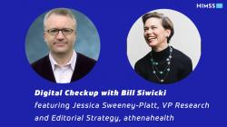 Jessica Sweeney-Platt, VP of research and editorial strategy at athenahealth