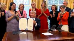 Trump STEM laws women