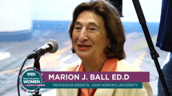 Marion Ball speaks to women entering health IT