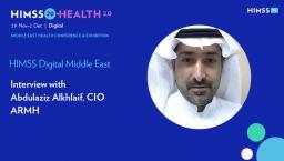 Abdulaziz Alkhlaif, CIO of Dr. Abdul Rahman Al-Mishari Hospital