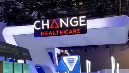 Change Healthcare booth at HIMSS18.