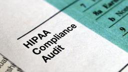 HIPAA compliance audit paper.