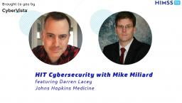 Johns Hopkins Medicine's Darren Lacey