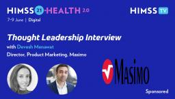 Devesh Menawat, director of hospital automation at Masimo