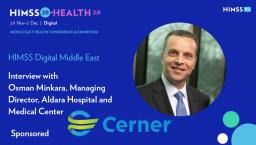 Osman Minkara, managing director at Aldara Hospital and Medical Center
